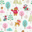 Winter,Bear,Animal,Christmas,Forest,Woodland,Bird,Tree,Wrapping Paper,Cartoon,Deer,Rabbit - Animal,seamless pattern,Gift,Wildlife,Ilustration,Wallpaper Pattern,Cute,Scarf,Sled,Snowflake,Owl,Season,Hat,Sweater,Vector,Bush,Pattern,Holiday,New Year,Christmas Tree,Backgrounds