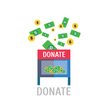 Donation Box,Symbol,Finance...