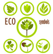Eco symbols collection