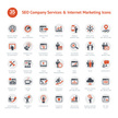 Set of SEO and Marketing icons