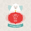 Christmas Card,Sheep,Winter...