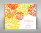 Autumn,Invitation,Flower,Gr...