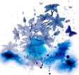 Creativity,Watercolor Painting,Banner,Backgrounds,Design,Butterfly - Insect,Growth,Sketch,Flower,Blue,Blob,Blooming,Beautiful,Nature,Art Product,Design Element,Elegance,Drop,Multi Colored,Print,Vector,Style,Splashing,Springtime,Spray,Inspiration,Computer Graphic,Ilustration,Abstract