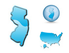 New Jersey,Map,Cartography,...