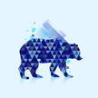 Bear,Computer Icon,Blue,Vio...