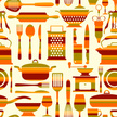 Cooking,Seamless,Pattern,Pl...