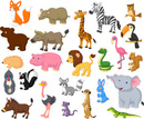 Horse,Tropical Rainforest,Pig,Hippopotamus,Animal Themes,Rabbit - Animal,Gorilla,Animals In The Wild,Animal,Lion - Feline,Lizard,Fun,Humor,Snake,Vector,Smiling,Monkey,Owl,Mammal,Squirrel,Porcupine,Goat,Cheerful,Bird,Happiness,Frog,Ape,Elephant,Flamingo,Raccoon,Illustration,Mouse - Animal,Fox,Zebra,American Bison,Toucan,Collection,Safari Animals,Iguana,Skunk,Rhinoceros,Africa,Giraffe,Ostrich,Cartoon,Bear,Meerkat