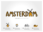 Amsterdam,Cartography,Map,F...