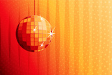 Disco Ball,Nightclub,Orange...