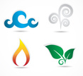 The Four Elements,Air,Land,...