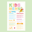 Child,Menu,Cooking,Flyer,Fo...