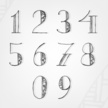 Ilustration,Number,Vector,T...