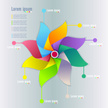 Infographic,Flower,Single F...