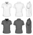 Shirt,Polo,template,Side View,Rear View,Front View,Male,Design,Button,Vector,Collar,Dress,Ilustration,Short - Length,Macro,T-Shirt,Polo Shirt,Half-turned,Clothing,Fashion