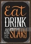 Drink,Horror,Text,Design,Ty...
