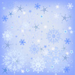 White,Snowflake,Blue,Elegan...