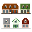 Flat,House,Vector,Modern,Co...