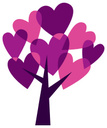 Tree,Heart Shape,Love,Vibra...