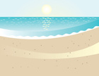 Beach,Sand,Sea,Wave,Ilustra...