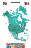 Map,Cartography,Canada,USA,...
