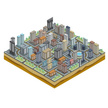 Isometric,Industry,Map,Cart...
