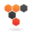 Curve,Orange Color,Black Color,Concepts & Topics,Inspiration,Design Element,Hexagon,Vector,Icon,Computer Graphic,Abstract,Modern,Sign,Imagination,Drawing - Art Product,Angle,Symbol,Honeycomb Pattern,Illustration,Design,Creativity,Geometric Shape,Shape,Fashion,No People,Ideas,Concepts,Single Line