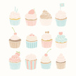 Cupcake,Blueberry,Pastry,Ve...