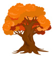 Tree,Orange Color,Cartoon,F...