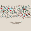 Backgrounds,Vector,Christma...