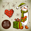 Gift,Snow,Cultures,Doodle,I...