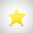 Gold Colored,Star - Space,S...