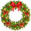 Christmas,Holly,Wreath,Gree...
