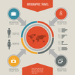 Infographic,World Map,Growt...