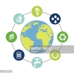 Environmental Conservation,Garbage,Vector,Backgrounds,Sun,Computer Graphic,Sign,Light Bulb,Symbol,Planet - Space,Illustration,Environment,Sustainable Resources,Recycling Symbol,Recycling,Global Communications,Nature,Fuel and Power Generation,Planet Earth,No People,Drop