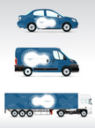 Ilustration,Bus,Car,editabl...