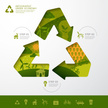 Data,Recycling,Organic,Vect...