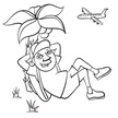 Vacations,Ilustration,Airpl...