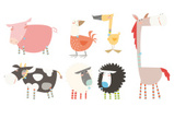Cow,Sheep,Farm,Duck,Animal,...