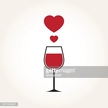 Drink,Love,Passion,Symbol,Sign,Wine,Red,Glass - Material,Heart Shape,Drinking Glass,Cute,Valentine's Day - Holiday,Wineglass,Illustration,Vector,February,2015