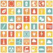 Vector Set of Ecologic Icons