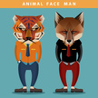 Fox,Animal,Geometric Shape,...