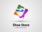 Shoe,Placard,Store,Business...