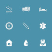 Ambulance,Internet,Care,Telephone,Icon Set,Stethoscope,First Aid Kit,Cut Out,Temperature,Vector,Hospital,Icon,24 Hrs,Computer Graphic,Fever,Sign,Mobile App,Digitally Generated Image,Injecting,Symbol,Illustration,Design,Nurse,First Aid,Healthcare And Medicine,Shape,2015,Blood