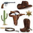 Spur,Whip,Wild West,Cactus,...
