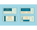 Movie Ticket,Design,Paper,U...