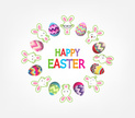 Cheerful,Easter,Multi Color...