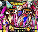 Owl,Bizarre,Bird,Vector,Ilustration,Pattern,Abstract,Decor,Decoration,Looking,Creativity,Animal,New,Doodle,Modern,Eyesight,Totem Pole,Symbol,Computer Graphic,Ignorance,Drawing - Activity,Incomplete,Humor,Multi Colored