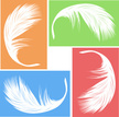 Feather,Softness,Vector,Sil...