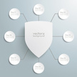 Shield,Knight,Infographic,C...