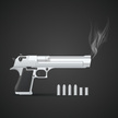 Ilustration,Weapon,Handgun,...